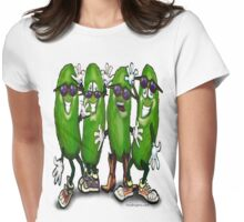 Pickle Party Womens Fitted T-Shirt