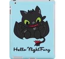 Hello Night Fury iPad Case/Skin