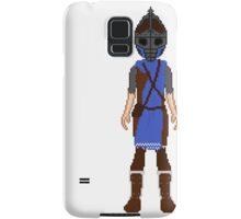 Skyrim 8-bit Falkreath Guard Samsung Galaxy Case/Skin