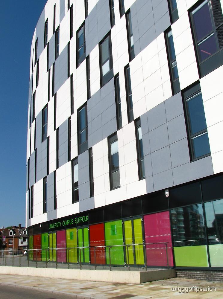 Vibrant Colours, University Campus, Ipswich by wiggyofipswich