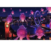 Lights Over London Photographic Print