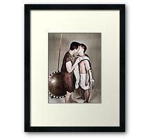 LOA - Alexander and Hephastion 2 Framed Print