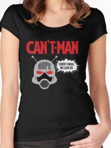 Can't Man Women's Fitted Scoop T-Shirt