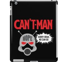 Can't Man iPad Case/Skin