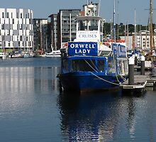 The Orwell Lady, Ipswich Waterfront by wiggyofipswich