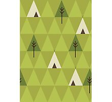 Teepee Photographic Print