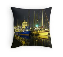The Orwell Lady At Night, Ipswich Throw Pillow