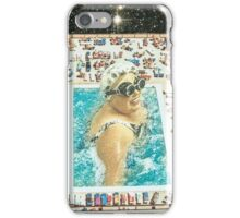 Swimming under the stars iPhone Case/Skin
