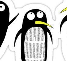 Paper Penguins  Sticker