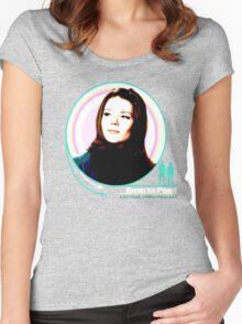 Emma Peel- Mrs Peel...We're Needed Women's Fitted Scoop T-Shirt