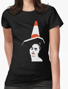 Traffic Cone T Shirt, Glasgow, Scotland, UK, Europe Womens Fitted T-Shirt