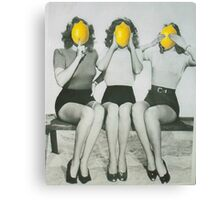 Lemonheads  Canvas Print