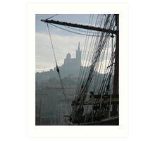 Le Vieux Port of Marseille Art Print
