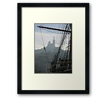Le Vieux Port of Marseille Framed Print