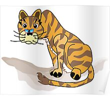 Tilly the Tiger Poster
