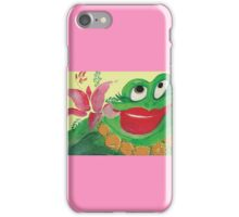 Big Momma Hula Frog iPhone Case/Skin
