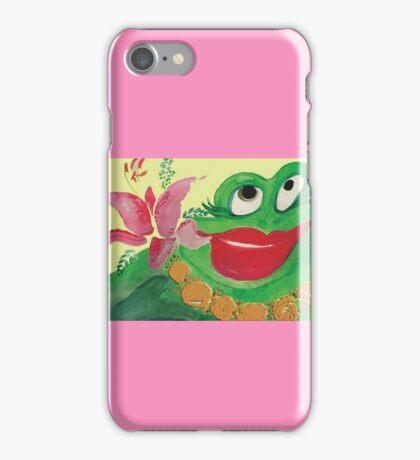 Big Momma Hula Frog iPhone Case/Skin