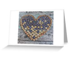 Bottlecap Love Greeting Card