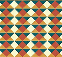 Tribal Pattern by Charlotte Anderson