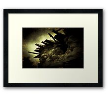 Battlements Framed Print