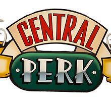 Friends central perk coffee logo by alyciathefox