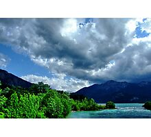 Skyscape at Loisach Valley Photographic Print