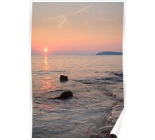 Croatian sunsets Poster