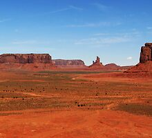 Monument Valley by Barry Hobbs
