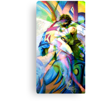 PSYCHE AND CUPID ENRAPTURED Canvas Print