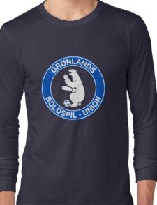 Greenland Soccer Polar Bears Long Sleeve T-Shirt