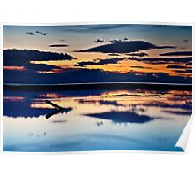 Findhorn Sunset Poster