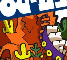 Splatfest Team Roller Coaster v.3 Sticker