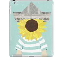 Son Flower iPad Case/Skin