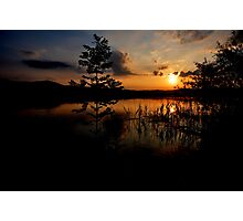 Sunset at Lake Kochelsee 03 Photographic Print