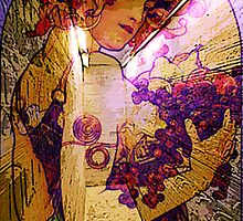 DEDICATION ~ MUCHA ETERNAL THROUGH HIS WORKS by Tammera