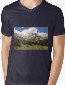Oh play me some mountain music  Mens V-Neck T-Shirt