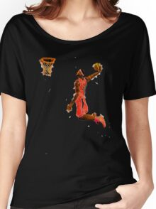 Basketball Dunk Women's Relaxed Fit T-Shirt