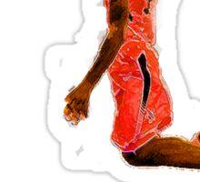 Basketball Dunk Sticker