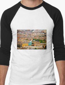 EDINBURGH..  Men's Baseball ¾ T-Shirt