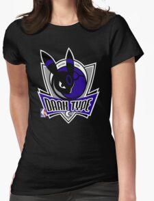 NPA Series - DARK TYPE Womens Fitted T-Shirt