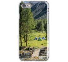 Memories of the camp  iPhone Case/Skin