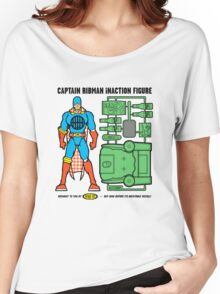 Captain RibMan InAction Figure Women's Relaxed Fit T-Shirt