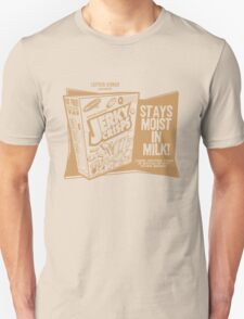 Jerky Crisps -- Stays Moist in Milk! Unisex T-Shirt