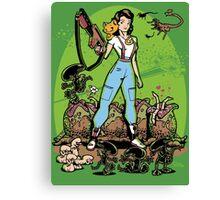 Alien Princess Canvas Print