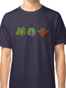 Workobeez THREE WIERD-Os Classic T-Shirt