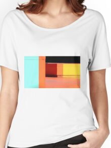 blocks of colour Women's Relaxed Fit T-Shirt