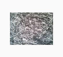 Grey Jackson Pollock-inspired painting Unisex T-Shirt