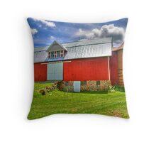 Barn Circa 1853 Throw Pillow