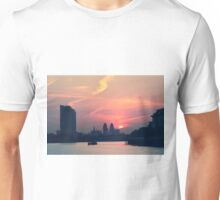 Sunset over Thames  Unisex T-Shirt