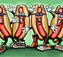 Weiner Party by Kevin Middleton